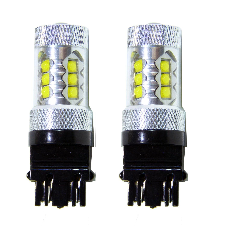 30off Genssi 2x 80w White 3157 3057 High Power Led 12v Brake Light Bar Wiring Diagram Reverse