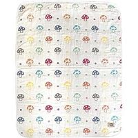 日本Hoppetta 宝宝6层透气纱布 四季通用空调被 L码(约108×134cm)