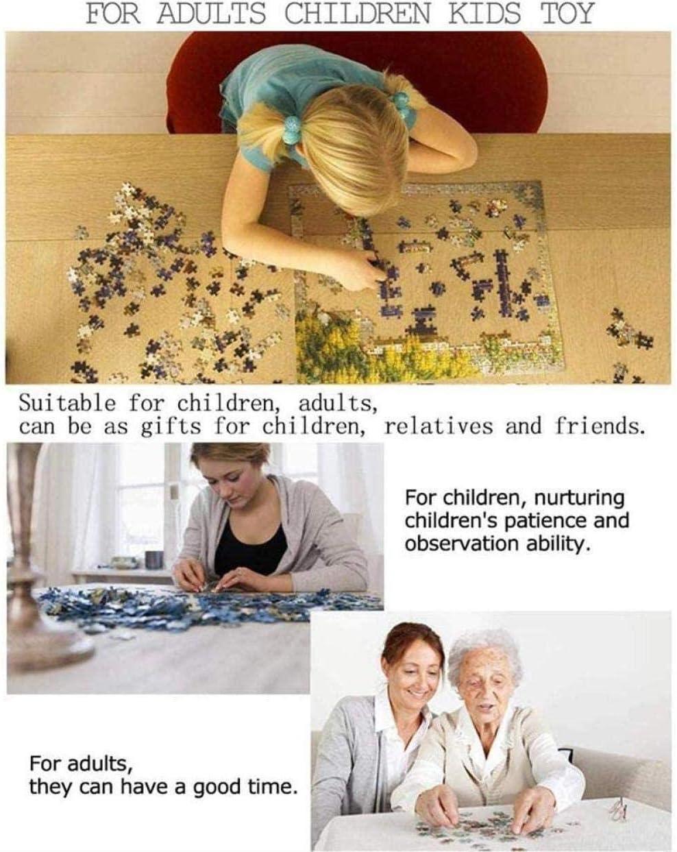 Puzzle 1000 Teile Holzpuzzle Noahs Arche Puzzle f/ür Erwachsene und Jugendliche