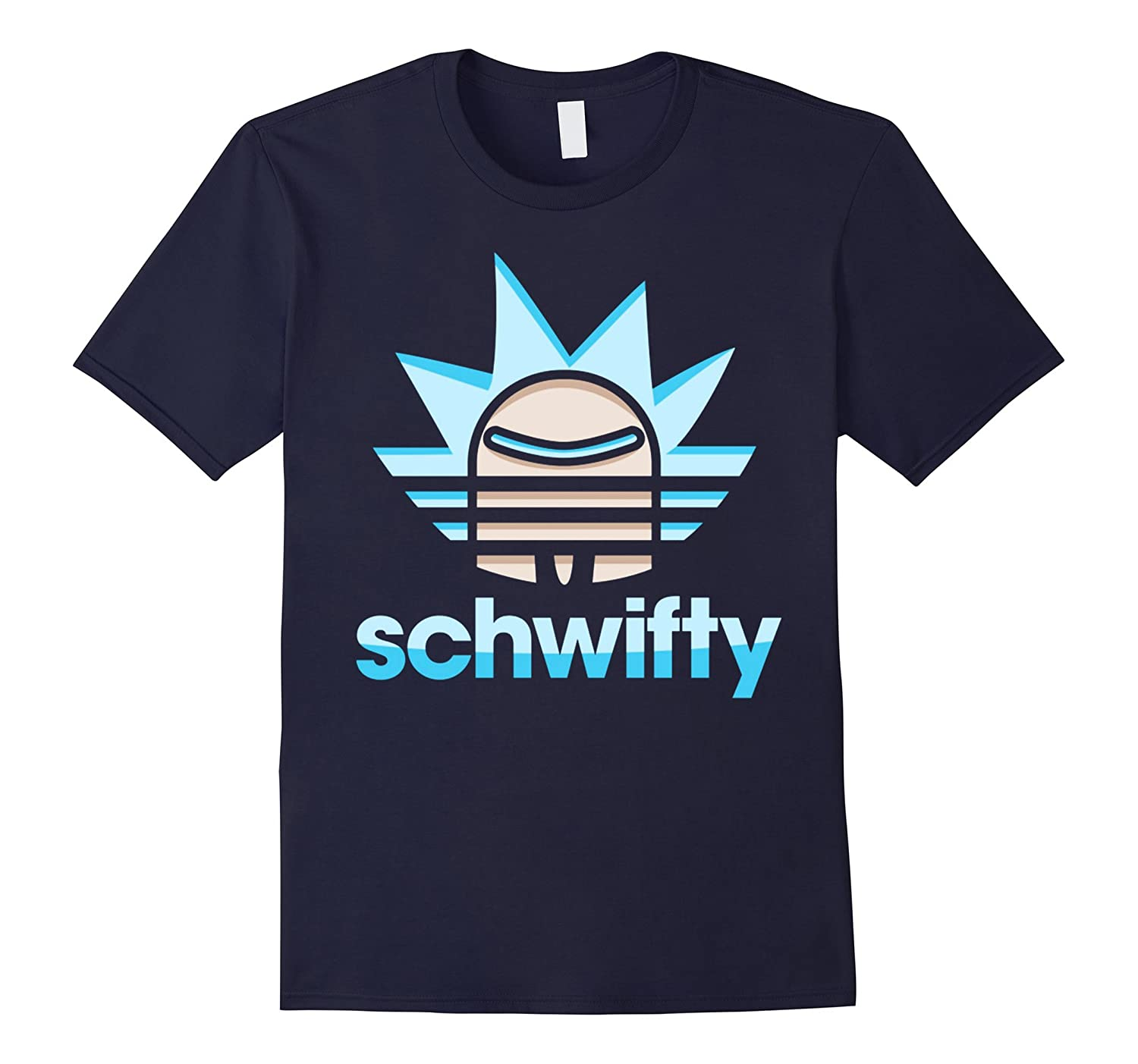 form into rick and go to the morty'm T-shirt for men woman-BN