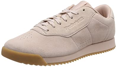 8e5a70f9e13 Reebok Women s Princess Ripple Low-Top Sneakers  Amazon.co.uk  Shoes ...