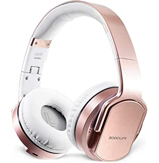 SODOLIFE 2 in 1 Bluetooth Headphone Over-Ear and Wireless Stereo Speaker,Foldable Headsets