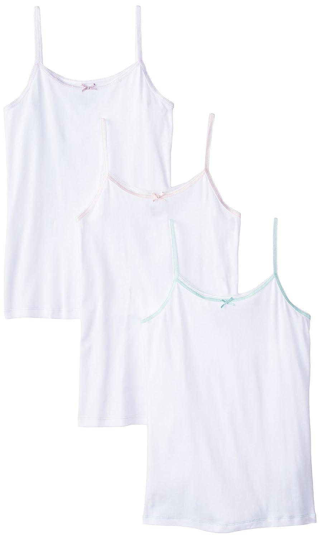 Trimfit Little Girls' Camisole Undershirt 100 Percent Combed Cotton 3-Pack trimfit Girls 2-6x 82001