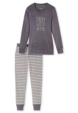 weltweite Auswahl an Stufen von Fang Schiesser Damen-Schlafanzug Frottee: Schiesser: Amazon.de ...