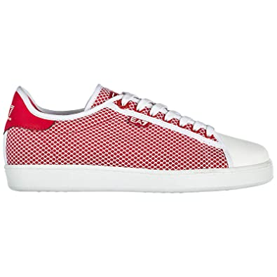 7cda72d650cf Emporio Armani EA7 Chaussures Baskets Sneakers Femme Classic Sea World  Rouge EU 40 2480448P29917574