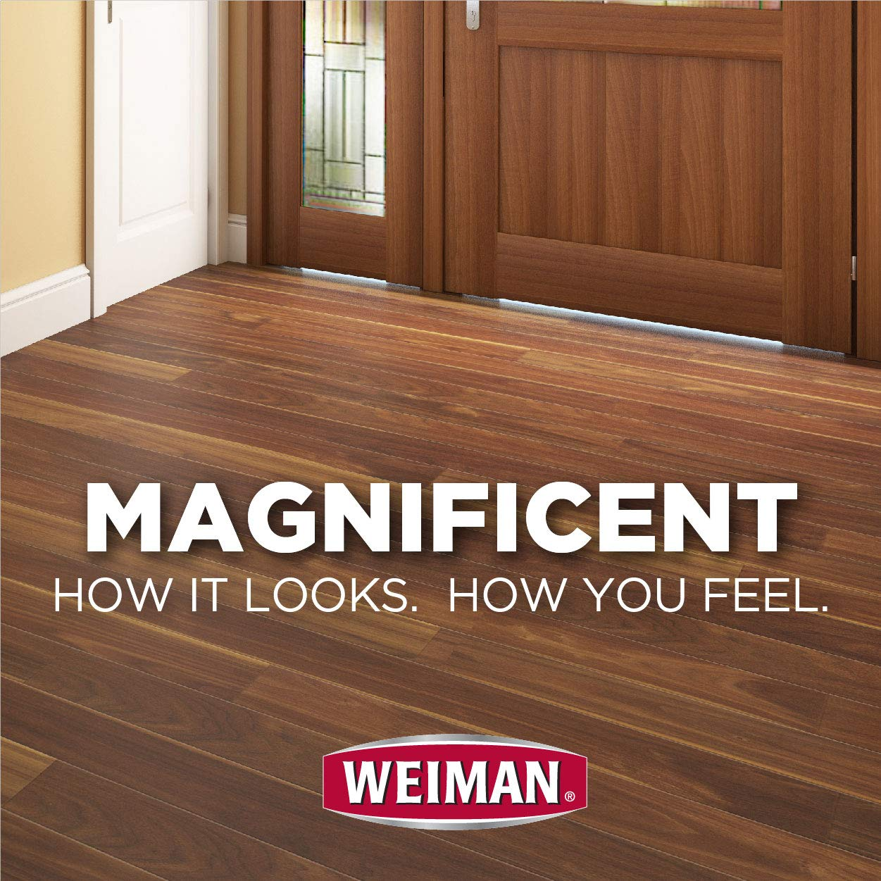 Weiman Wood Floor Cleaner [2 Pack] 32 Ounce - Hardwood Finished Oak Maple Cherry Birch Engineered and More - Professional Safe Steak-less by Weiman (Image #3)