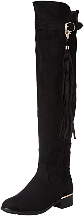 115f719c XTI Women's BOTA SRA. Antelina Negro Closed Toe Heels, Black, 4 UK ...