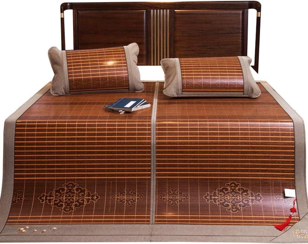 - Mattresses Cooling Mattresses Bedding Straw Mat Summer Sleeping Mats Bed-mat  Foldable Double Bed, Ice Silk Mat, 59