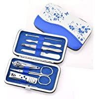 HailiCare Manicure Pedicure Set Nail Clippers Professional 7 Piece Stainless Steel Hygiene Kit Travel & Grooming Kit…