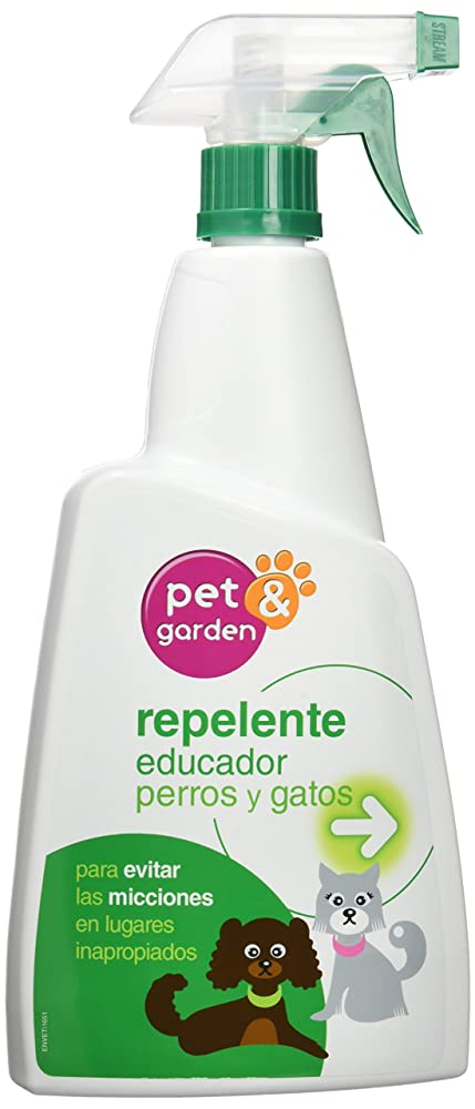 Flower pet&garden, spray repellente, educativo e disabituante per cani e gatti