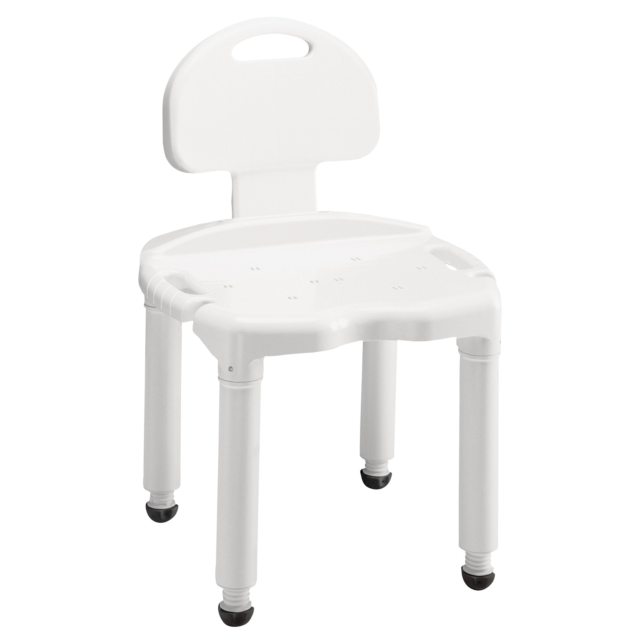 Carex Bath Seat And Shower Chair With Back For Seniors