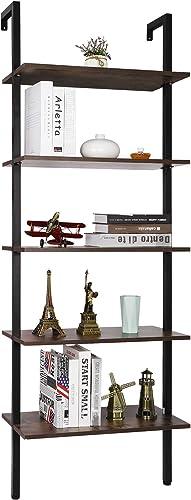 SUPER DEAL 5 Tier Bookcase