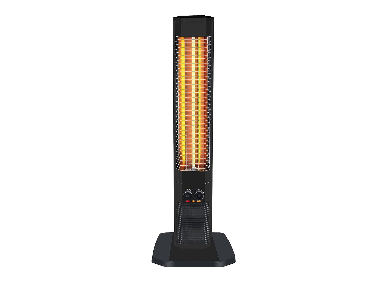 Calefactor halógeno vertical con resistencia de carbono y termostato ajustable HEATY 1800 Purline: Amazon.es: Hogar