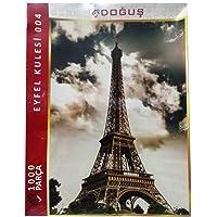 1000 Parça Eyfel Kulesi Resimli Puzzle Yapboz - Kampanyalı Fiyat