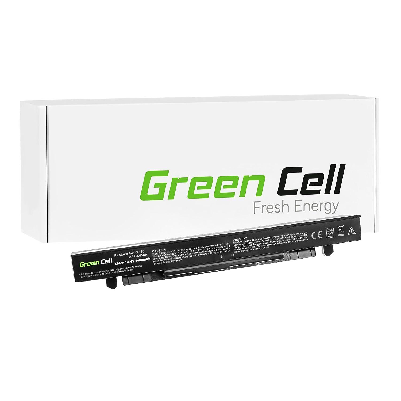 Green Cell® Extended Serie Batería para Asus R510J Ordenador (8 Celdas 4400mAh 14.4V Negro): Amazon.es: Electrónica