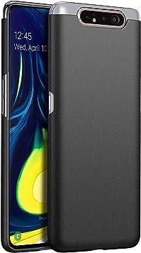 1SourceTek Compatible para Funda Samsung Galaxy A80 Estuche Protector para Celular Delgado Minimalista Protector Anti-Rasguño de Alta Calidad para Samsung Galaxy A80 (Grava Negra): Amazon.es: Belleza