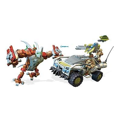 Mega Construx Halo Forgehog Vs. Banished Goliath Building Set: Toys & Games