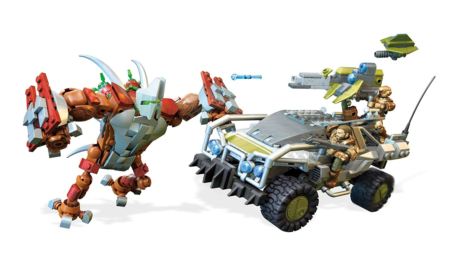 Mega Construx Halo Forgehog Vs. Banished Goliath Fisher Price / Mattel Canada FVK36