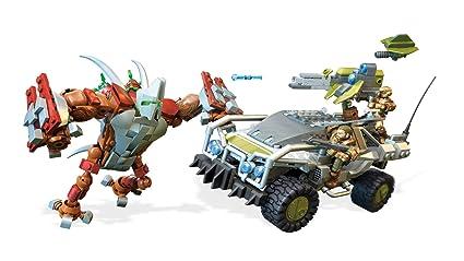 Mega Construx Halo Forgehog Vs  Banished Goliath Building Set