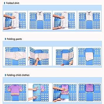 Ahorro de Tiempo Tabla de Pintar Ropa Camisetas Pantalones Mano ̈1Cher Organizador r/ápido f/ácil y SPA Homie W