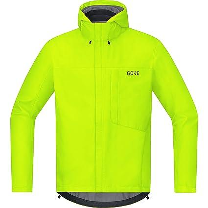 GORE Wear Mens Waterproof Hooded Bike Jacket, GORE Wear C3 GORE Wear -TEX Paclite