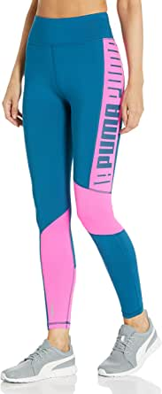 PUMA Women's Logo HIGH Waist 7/8 Training Tights