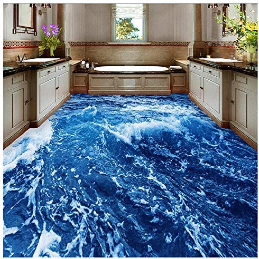 9D Colorful Sea World 9 Floor Wallpaper Murals Self Adhesive ...