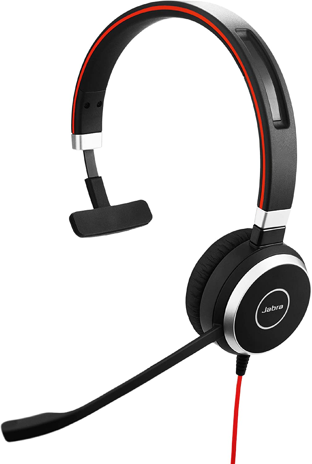 Jabra Evolve 40 UC Professional Wired Headset, Mono – Telephone Headset for Greater Productivity, Superior Sound for Calls and Music, 3.5mm Jack/USB Connection, All-Day Comfort Design, UC Optimized