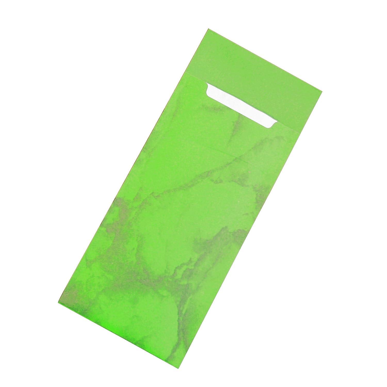520 St/ück Carta Verde mela 520/Buste Porta Posate con tovaglioli