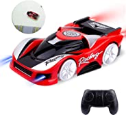 FCONEGY Toys Car Wall Climbing Remote Control Car, Mini Vehicle Rechargeable, Dual Mode 360° Rotating Stunt Car, Home Toy Ca