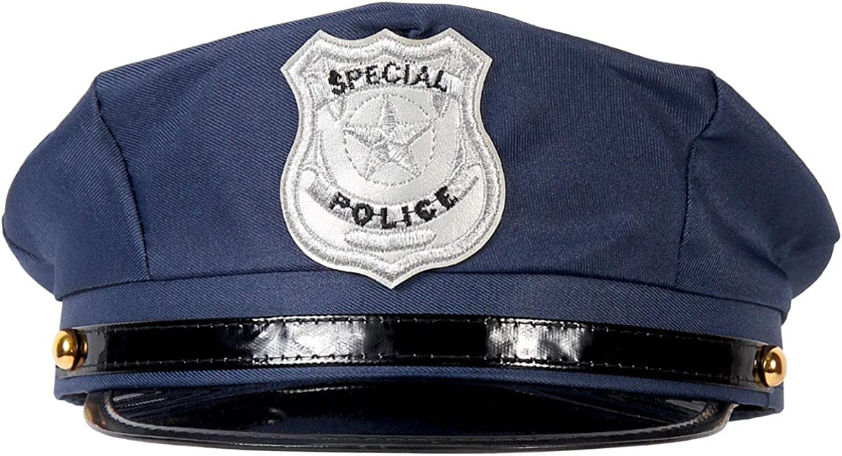 Alsino Policía Sombrero Gorra De Policía Cap Carnaval Cop Policía ...