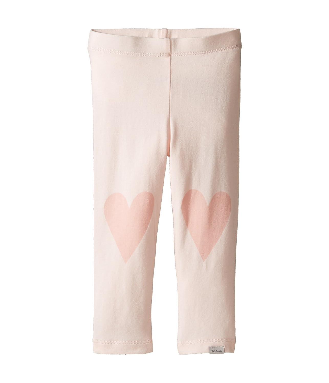 [ポールスミス] Paul Smith Junior レディース Pink Leggings with Hearts On Knees (Infant) ボトムス [並行輸入品] 12 Months Powder Pink B06WRNN146