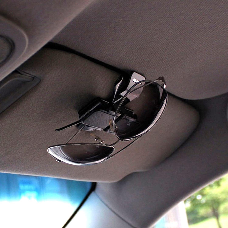 EXO Dual Car Sunglasses Holder Clip Eyeglasses Sun Visor Double Holders Clips for Motors Auto Vehicle AUTOCOM 4350408532