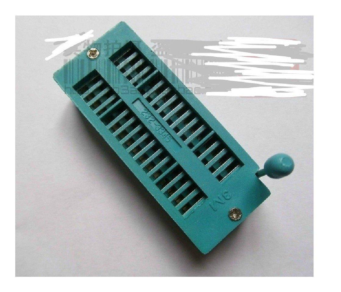 Exiron 10pcs New 32 Pin Universal ZIF DIP Tester IC Test Socket
