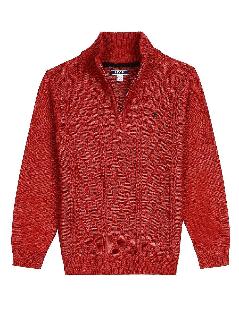 IZOD Boys' Half Zip Sweater Izod Children's Apparel