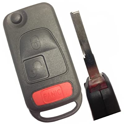 Replacement Keyless Remote Fob Key Shell Case Replacement Fit For C230 C280 C43 AMG CL500 CL600 CLK320 CLK430 E300 E320 E430 E55 AMG ML320 ML430 ML55 AMG S320 S420 S500 S600 SL500 SL600 SLK230: Automotive [5Bkhe1515631]