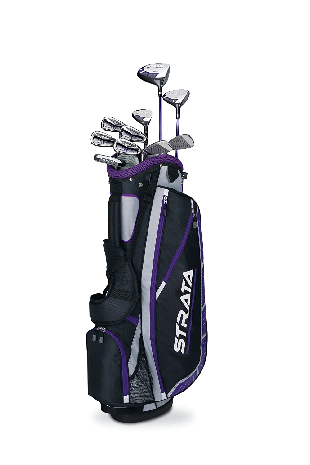 Amazon.com : Callaway Women\'s Strata Plus Complete Golf Set (14 ...
