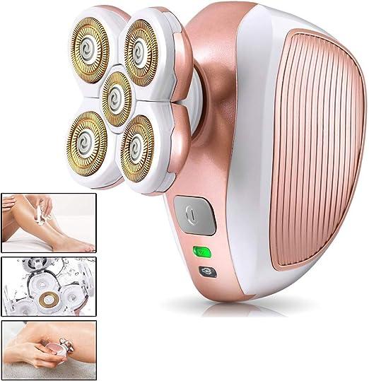 YxnGu Máquina de Afeitar para depilar el Agua a Prueba de Agua ...
