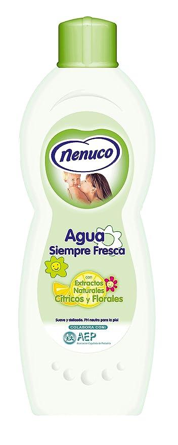 Nenuco Agua Siempre Fresca Con Extractos de Naturales Cítricos Y Florales - 600 ml