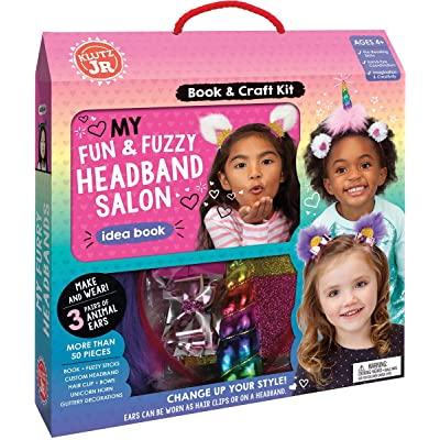 Klutz My Fun & Fuzzy Headband Salon Jr: Editors of Klutz,: Toys & Games