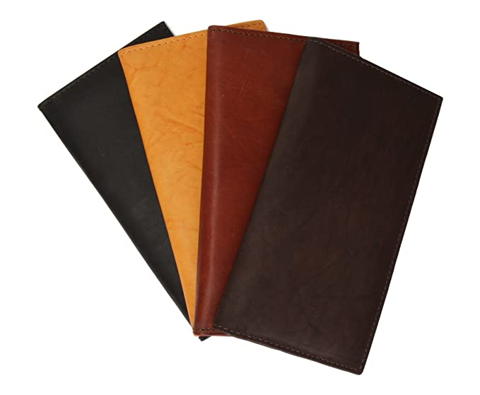 checkbook covers leather