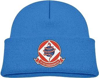 ADGoods Kids Children VF-102 Diamond Backs Beanie Hat Knitted Beanie Knit Beanie For Boys Girls Gorra de béisbol para niños
