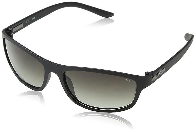 Fila Gafas de Sol para Hombre, Negro (Shiny Black), 36