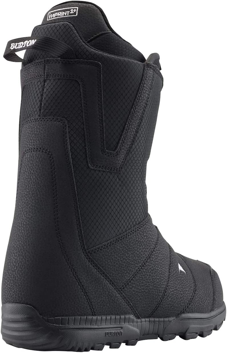 8 UK 42 EU Burton Mens Moto Boa Boots Black