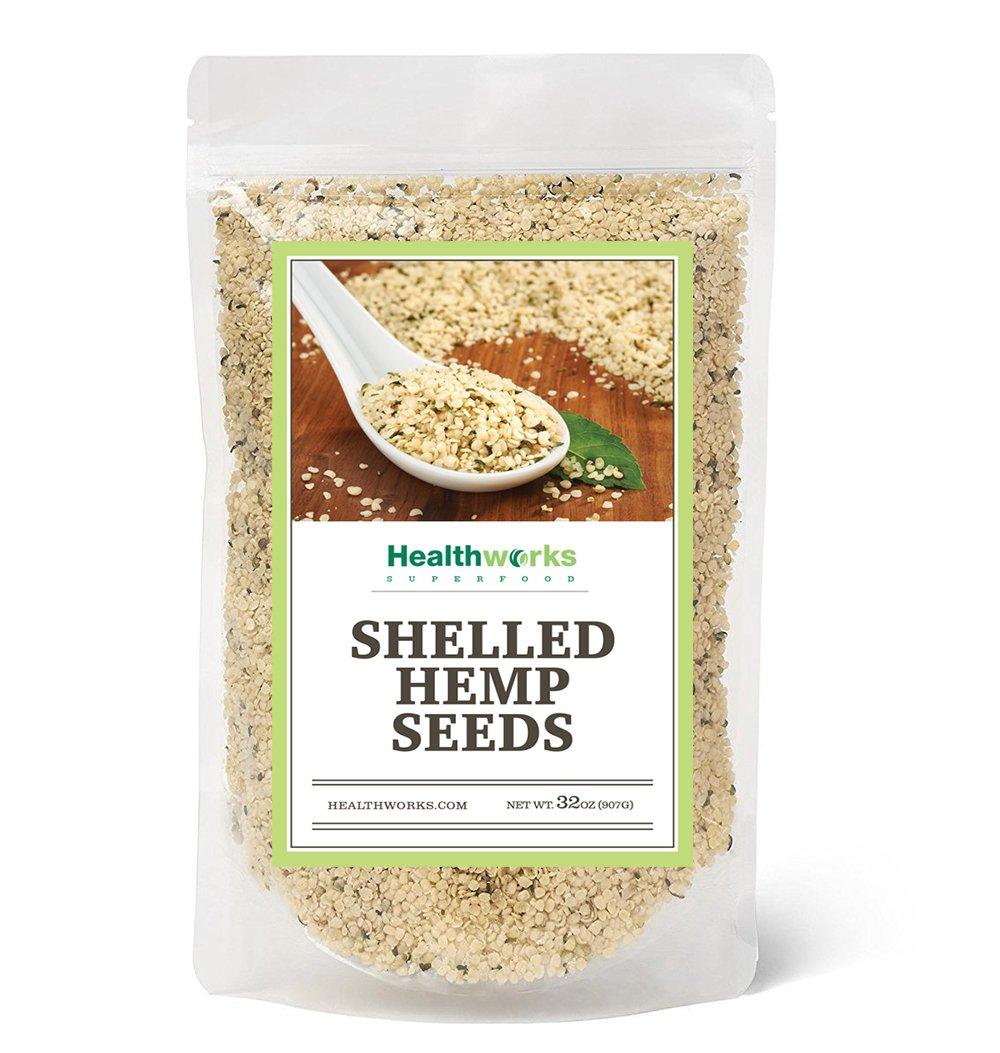 Healthworks Hemp Seed Shelled Pesticide-Free, 2lb