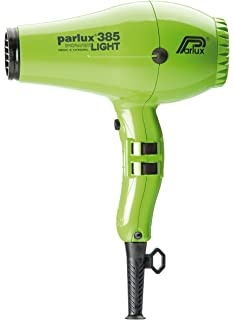 Parlux Hair Dryer 385 Power Light - Secador de pelo, color verde