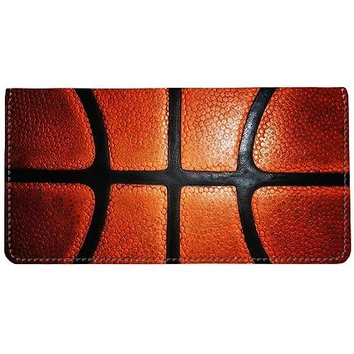 amazon com snaptotes basketball design checkbook cover shoes