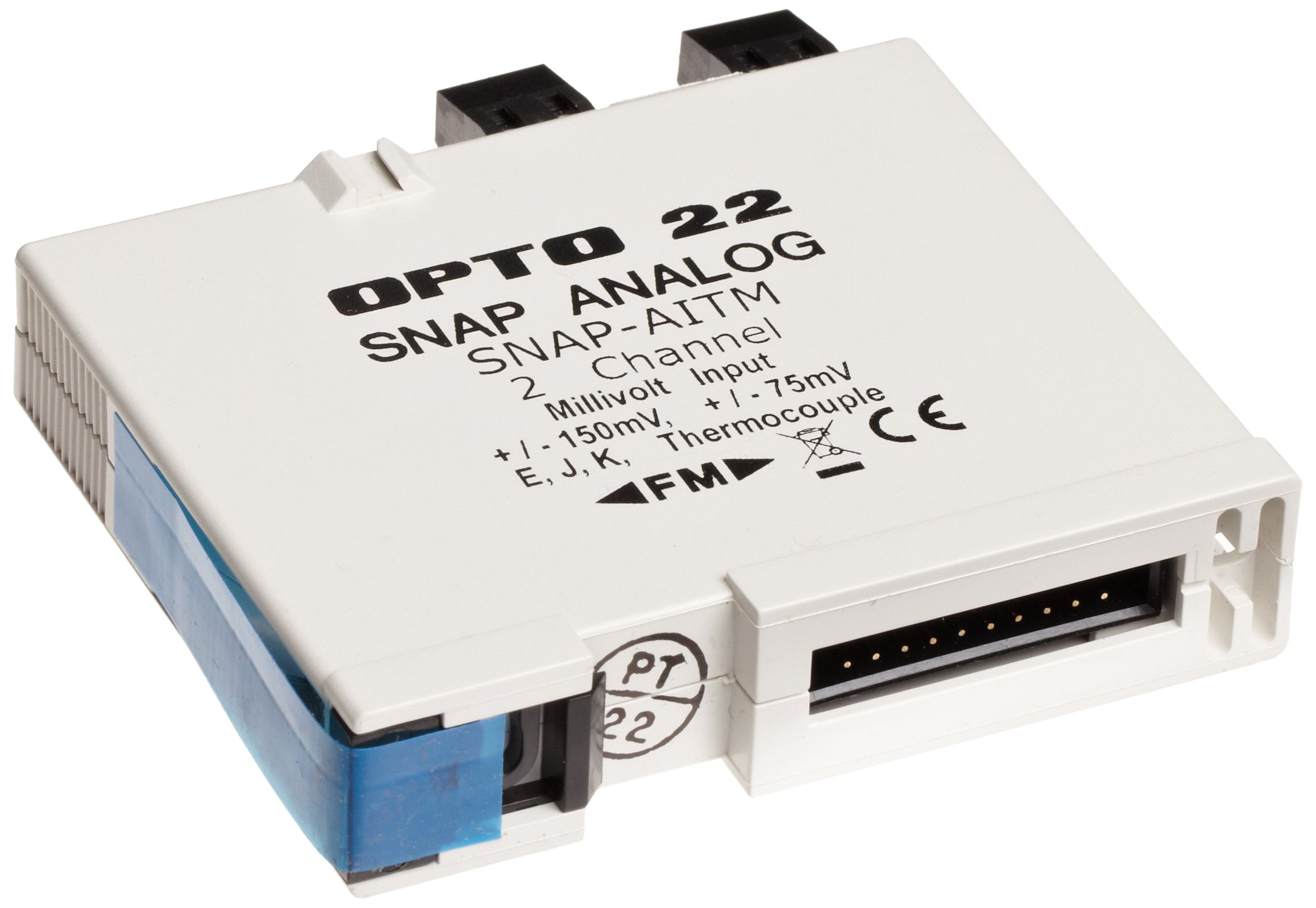 Opto 22 SNAP-AITM - SNAP Analog Input Module, 2-Channel Thermocouple or mV Input