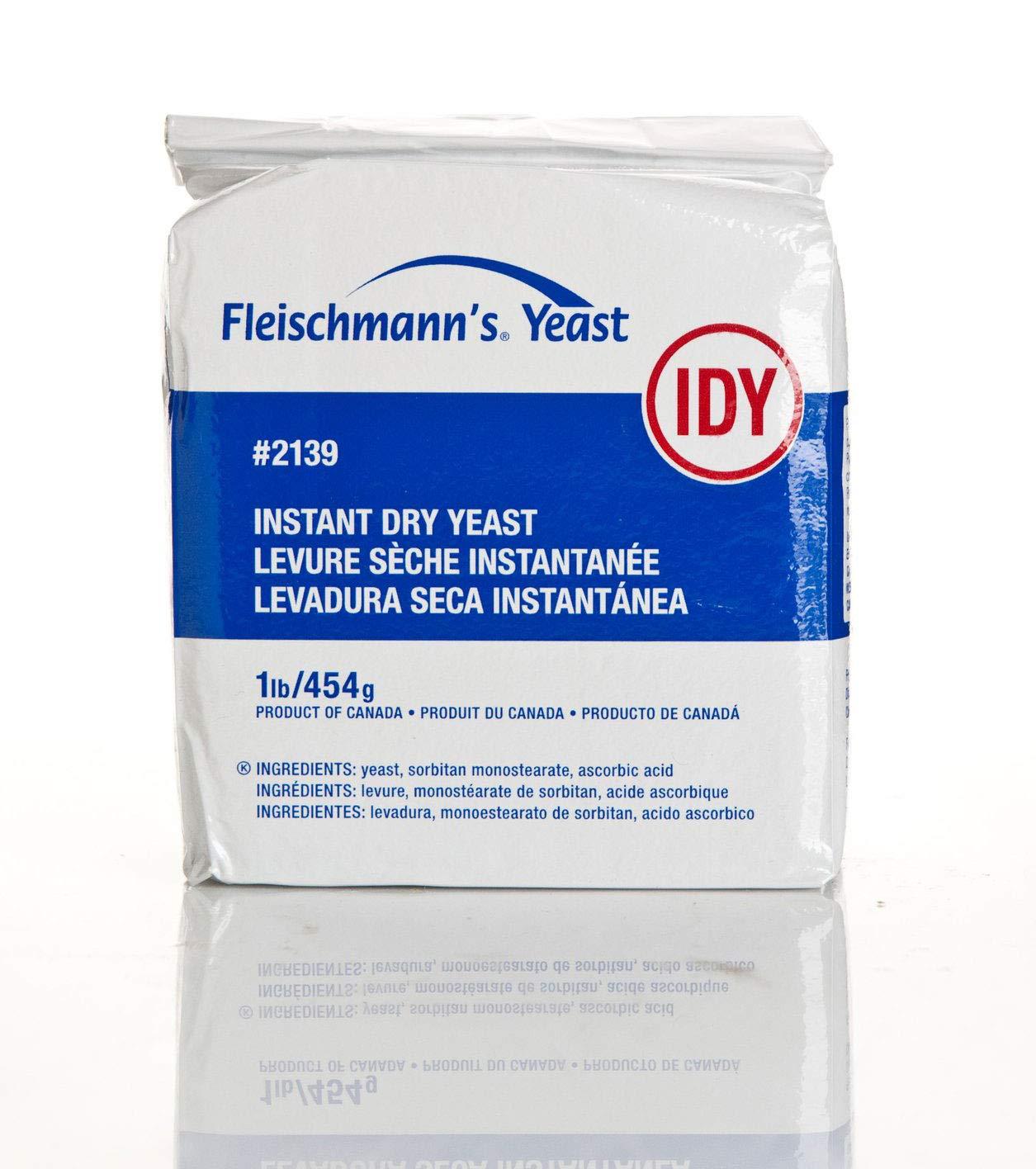 Fleischmann's Instant Dry Yeast Vacuum Pack (1 Lb)