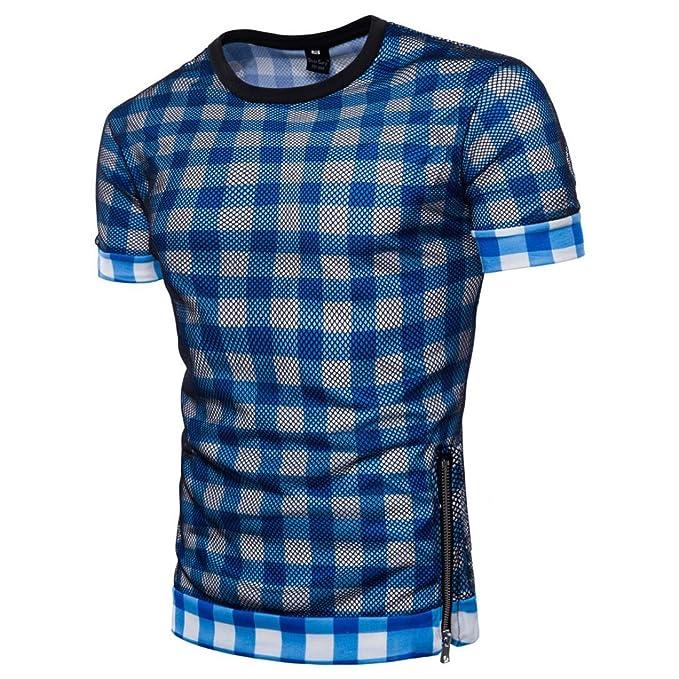 WINWINTOM 2018 Moda Estilo de Verano Camisetas, Verano Diario Camisas De Hombre, Hombres Casual